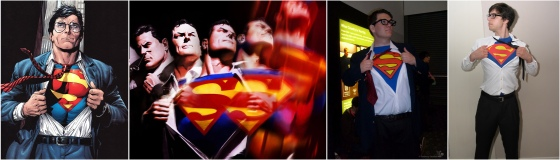 superman shirt cosplay
