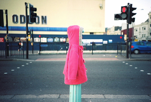 abandoned coat