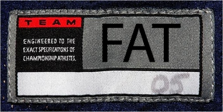 fat size label