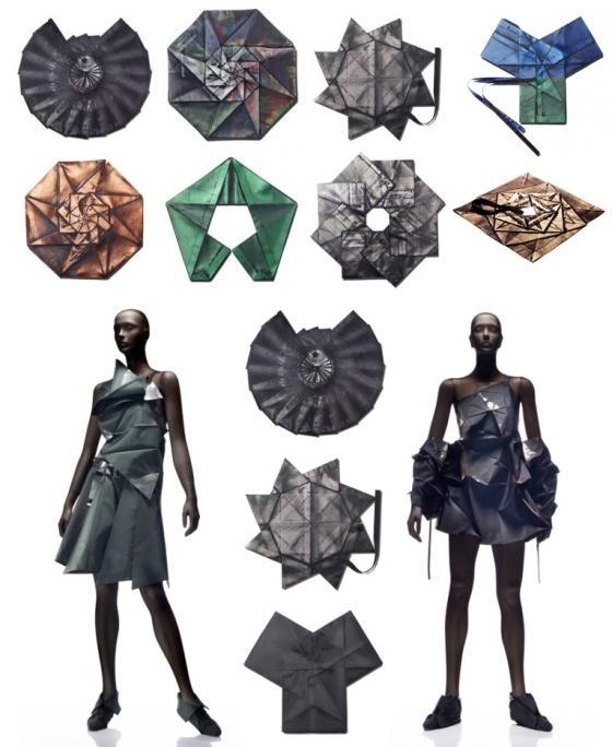 Issey Miyake origami
