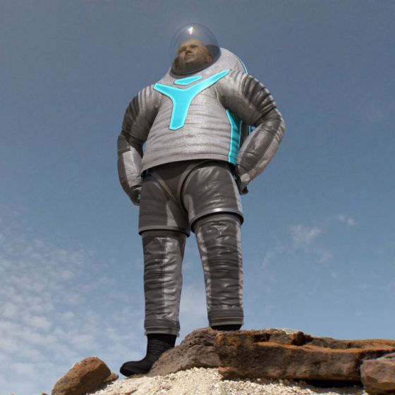 NASA z-2 spacesuit