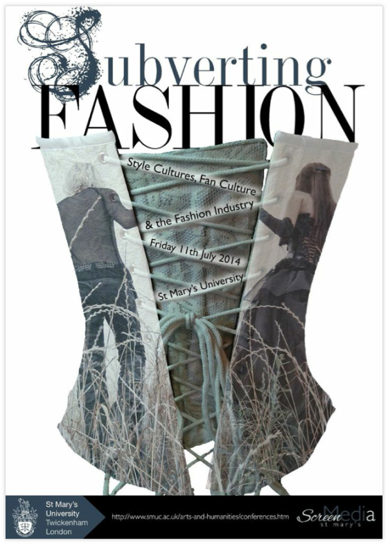 Subverting Fashion poster