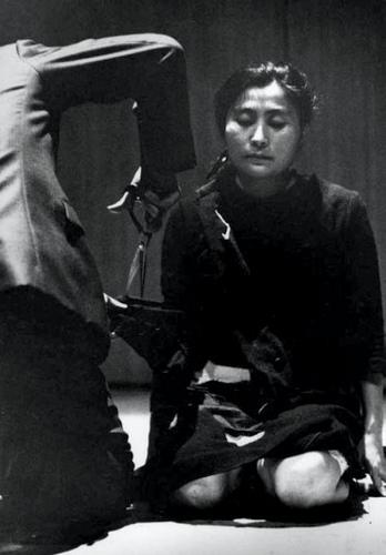 cut piece Kyoto 1964