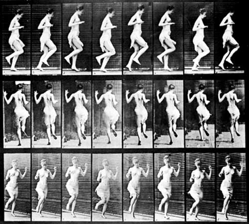 Edweard Muybridge's studies of the human figure in motion captured the movement of the human body in detail that had not previously been seen or understood.