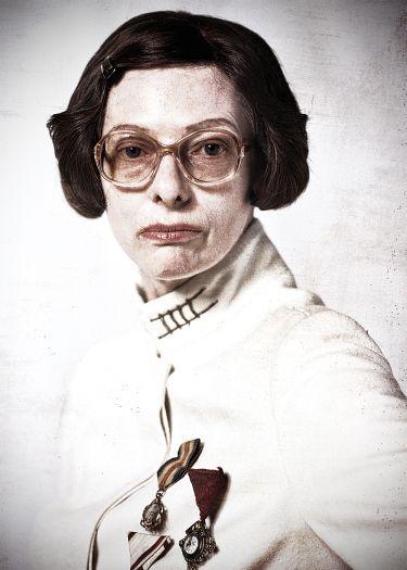 Tilda Swinton in 'Snowpiercer'.