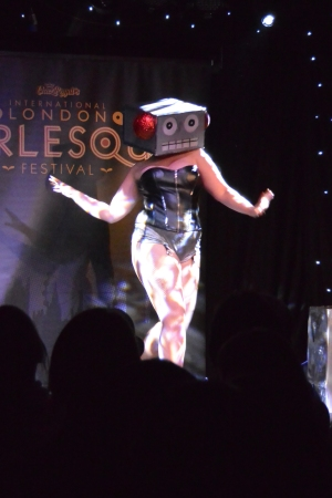 Soup Du Jour, performing at Mondo Galactica (you haven't lived until you have seen a robot with its nipples on fire)