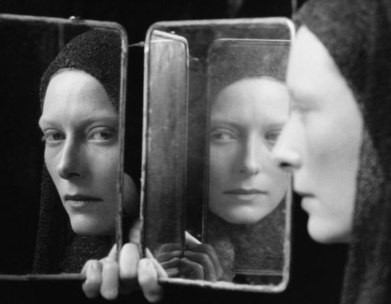 Tilda Swinton photographed by Fabio Lovino.