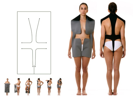 Body-as-Joint-Seamless-Clothing